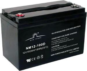 NM12-100D battery