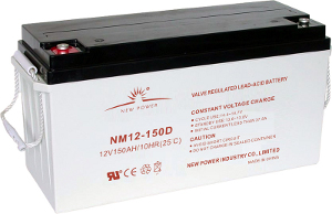 NM12-150D battery picture