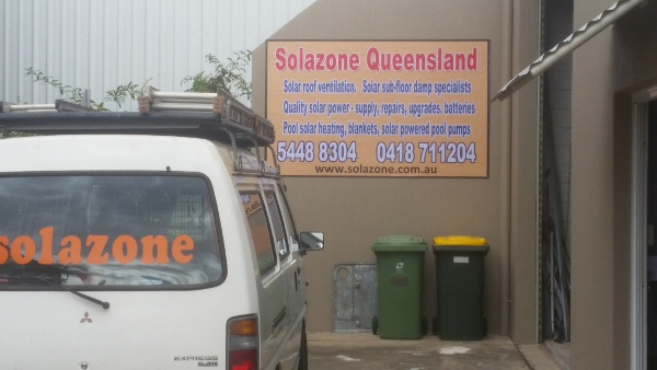 Solazone Queensland warehouse Marcoola