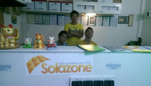Solazone Philippines ready for third birthday celebrations.