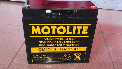 motolite sealed agm solar battery
